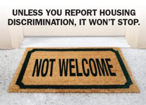 "Welcome mat with text ""Not Welcome"""